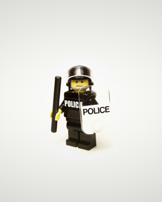 Police Lego - Obrázkek zdarma pro Nokia Asha 305