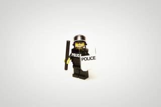 Free Police Lego Picture for Android, iPhone and iPad