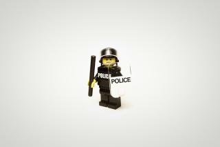 Police Lego - Obrázkek zdarma pro HTC Wildfire