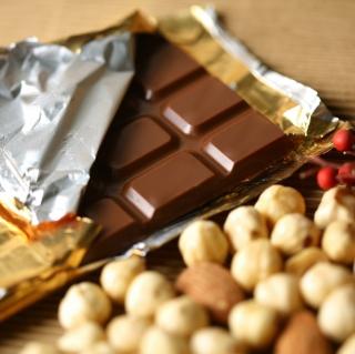 Chocolate And Hazelnuts - Obrázkek zdarma pro 320x320