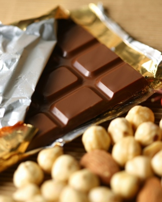 Chocolate And Hazelnuts - Obrázkek zdarma pro Nokia Asha 202