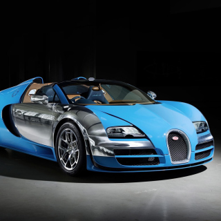 Bugatti Veyron Grand Sport Vitesse Roadster - Obrázkek zdarma pro iPad mini 2
