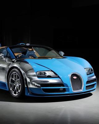 Bugatti Veyron Grand Sport Vitesse Roadster - Obrázkek zdarma pro Nokia C-5 5MP