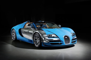 Bugatti Veyron Grand Sport Vitesse Roadster - Obrázkek zdarma pro 480x320