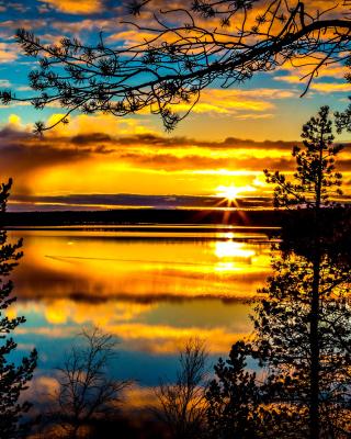 Sunrise and Sunset HDR - Obrázkek zdarma pro iPhone 5C