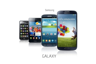 Samsung Smartphones S1, S2, S3, S4 Picture for Android, iPhone and iPad