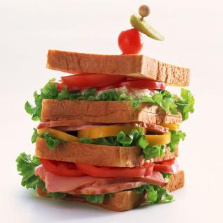 Breakfast Sandwich - Obrázkek zdarma pro 128x128