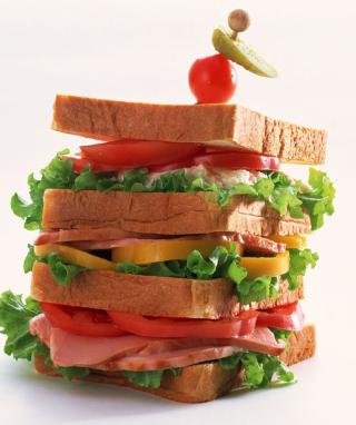 Breakfast Sandwich - Obrázkek zdarma pro 480x640