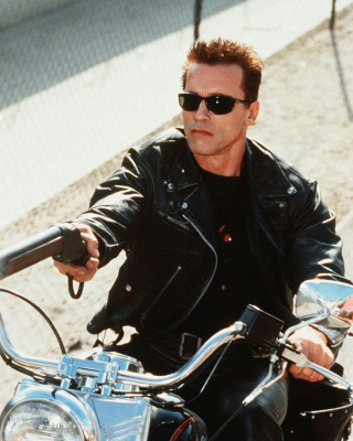 Arnold Schwarzenegger in Terminator 2 - Obrázkek zdarma pro 128x160