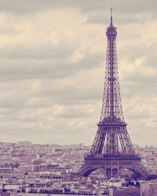 Eiffel Tower Landmark Color - Obrázkek zdarma pro 480x640