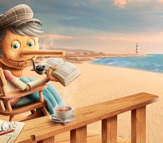 Old Pinocchio - Obrázkek zdarma pro iPad 3