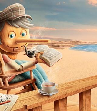 Old Pinocchio - Obrázkek zdarma pro 360x400
