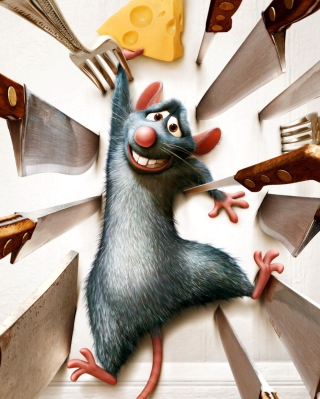 Ratatouille - Obrázkek zdarma pro Nokia C-Series