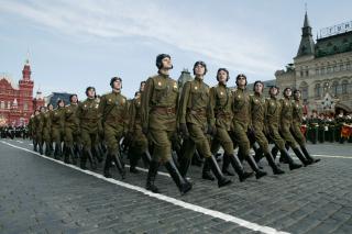 May Victory Day Celebrations - Obrázkek zdarma pro 720x320