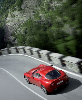 Alfa Romeo Mito - Obrázkek zdarma pro Nokia Asha 306