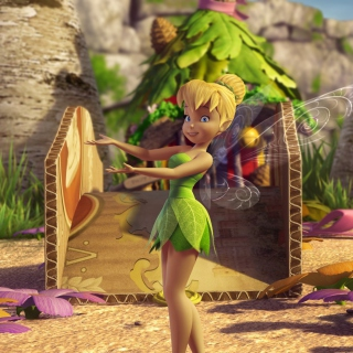 Tinker Bell And The Great Fairy Rescue 2 - Obrázkek zdarma pro 320x320