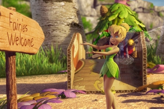 Tinker Bell And The Great Fairy Rescue 2 - Obrázkek zdarma pro 1366x768