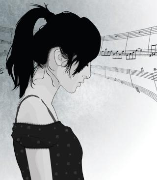 Music In My Head - Obrázkek zdarma pro Nokia X2-02