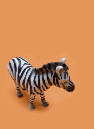 Zebra Toy - Obrázkek zdarma pro Nokia Asha 303