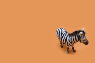 Zebra Toy - Obrázkek zdarma pro 800x480