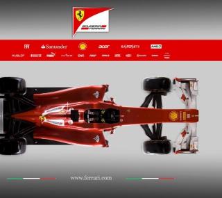 Ferrari F1 - Obrázkek zdarma pro 208x208