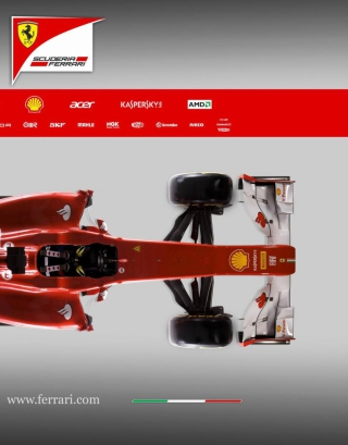 Ferrari F1 - Obrázkek zdarma pro Nokia C1-01