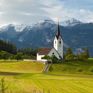 Switzerland Alps - Obrázkek zdarma pro 208x208