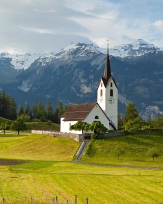 Switzerland Alps - Obrázkek zdarma pro Nokia Asha 310