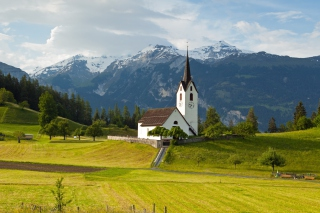 Switzerland Alps - Obrázkek zdarma pro Nokia Asha 210