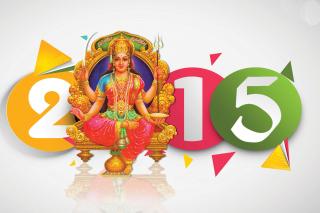 Happy NewYear 2015 - Obrázkek zdarma pro Fullscreen Desktop 800x600