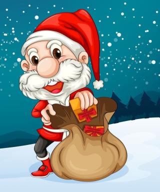 Happy Santa - Obrázkek zdarma pro 132x176