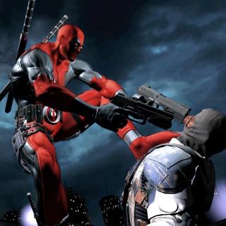 Deadpool Superhero Film - Obrázkek zdarma pro iPad Air