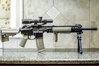 AR15 BCM Assaultrifle Picture for Android, iPhone and iPad