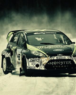 Ford Racing Car - Obrázkek zdarma pro 360x480