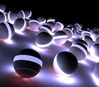 Spherical Balls - Obrázkek zdarma pro iPad Air