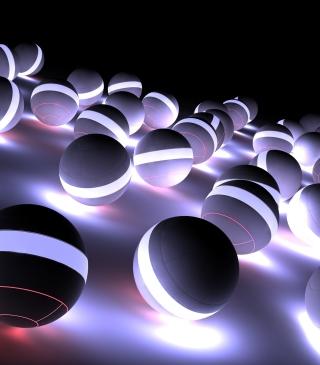 Spherical Balls - Obrázkek zdarma pro Nokia Asha 306