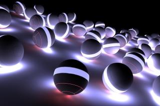Spherical Balls - Obrázkek zdarma pro Samsung Galaxy Note 4
