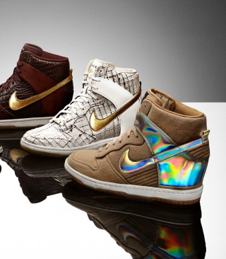 Nike Fashion Sport Shoes - Obrázkek zdarma pro 132x176