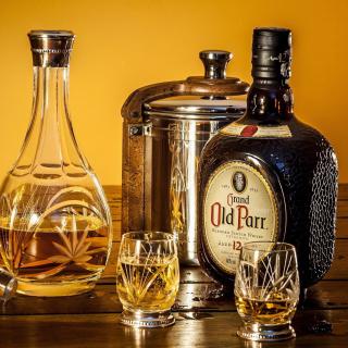 Grand Old Parr Blended Scotch Whisky - Obrázkek zdarma pro 320x320