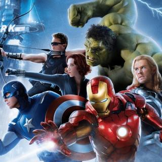 Avengers 2 Age of Ultron - Obrázkek zdarma pro iPad Air