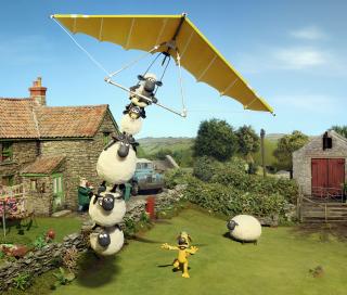 Shaun The Sheep - Obrázkek zdarma pro iPad