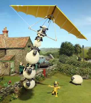 Shaun The Sheep - Obrázkek zdarma pro iPhone 4
