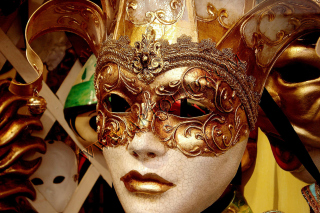 Venice Carnival Background for Android, iPhone and iPad