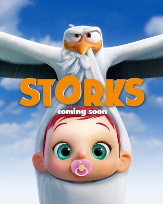 Storks HD - Obrázkek zdarma pro 480x854