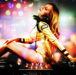 DJ - Obrázkek zdarma pro iPad Air