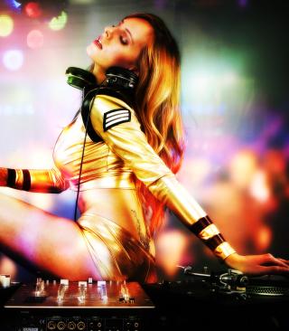 DJ - Obrázkek zdarma pro Nokia C3-01 Gold Edition