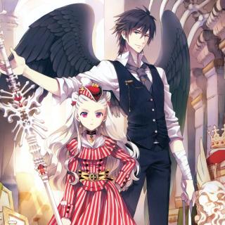 Anime Zerochan Queen - Obrázkek zdarma pro 128x128