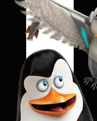 Penguins of Madagascar - Obrázkek zdarma pro Nokia 206 Asha