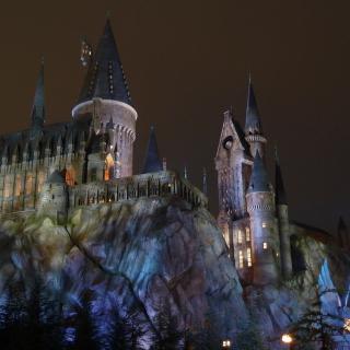Hogwarts Castle - Obrázkek zdarma pro iPad