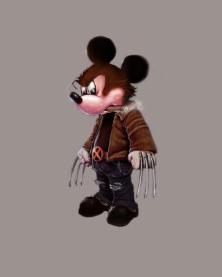 Mickey Wolverine Mouse - Obrázkek zdarma pro Nokia X2-02